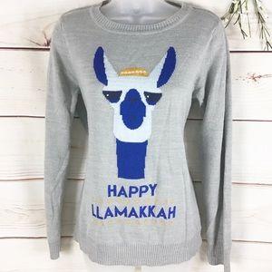 Verve ami' Happy Llamakah Holiday Sweater